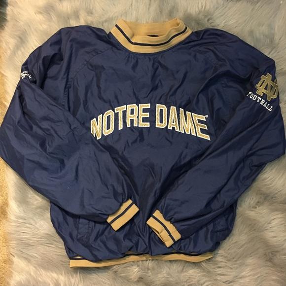 Reebok Shirts Vintage Notre Dame Pullover Poshmark